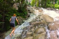 Dunns-River-Falls-zu-Fuß