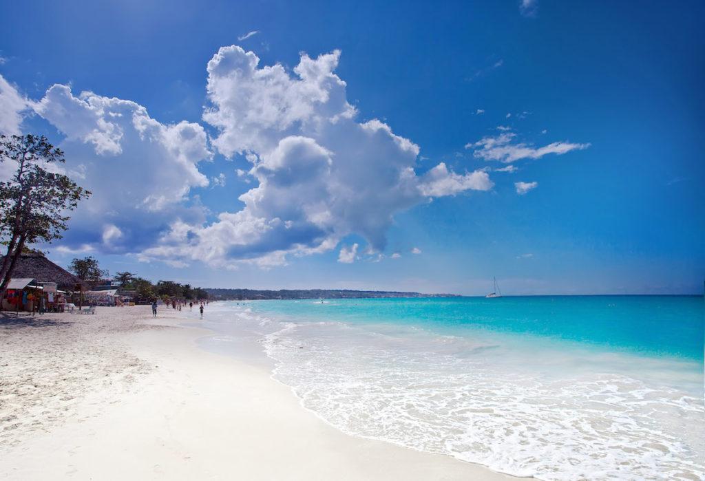 Jamaika Mietwagen Rundreise relaxen am Strand
