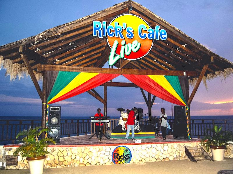 Jamaika Rundreise Sehenswürdigkeiten Rick´s Cafe