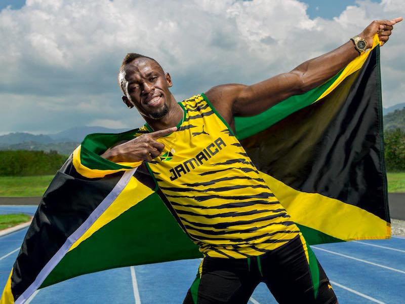 Jamaika Rundreise Usain Bold