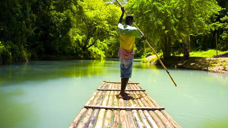 Jamaika Bamboo Rafting