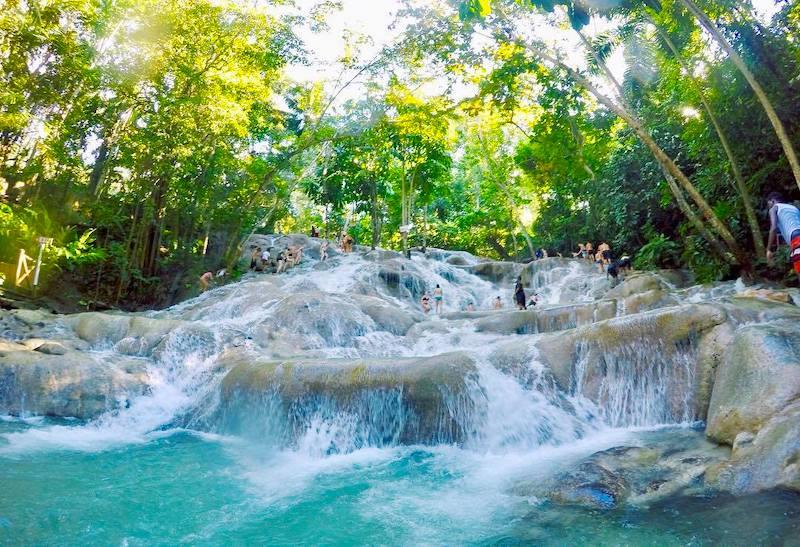 Jamaika Dunns River Falls