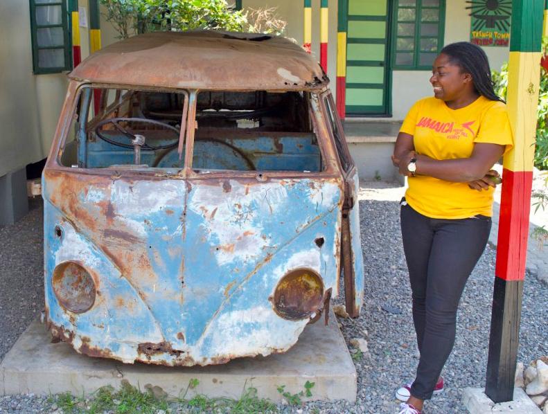 Culture Yard Kingston Bob Marleys VW Bus
