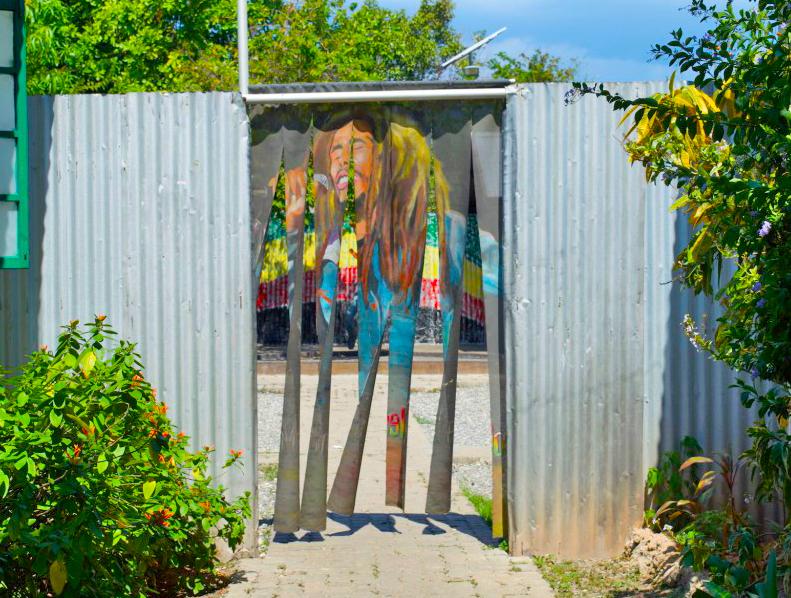 Eingang Culture Yard Kingston
