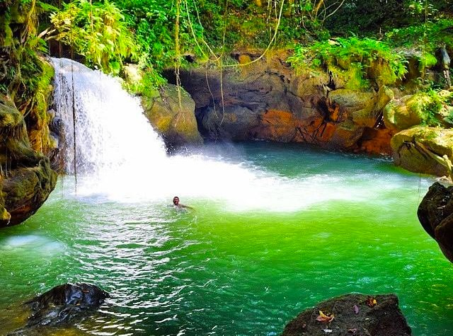 Jamaika Infos Wasserfall