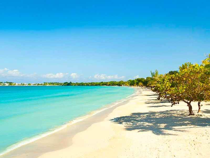 Jamaika Entdecker Rundreise Negril 7 mile Beach