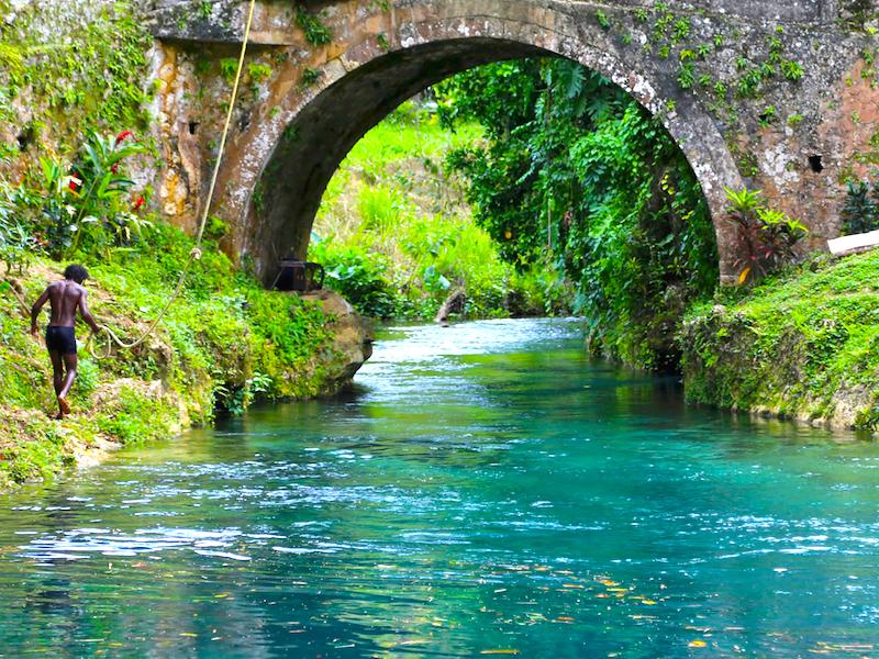 Jamaika Spanish River Bridge