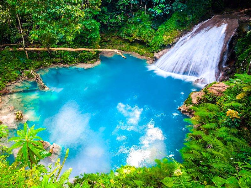 Jamaika Reisebericht Blue Hole in Ocho Rios