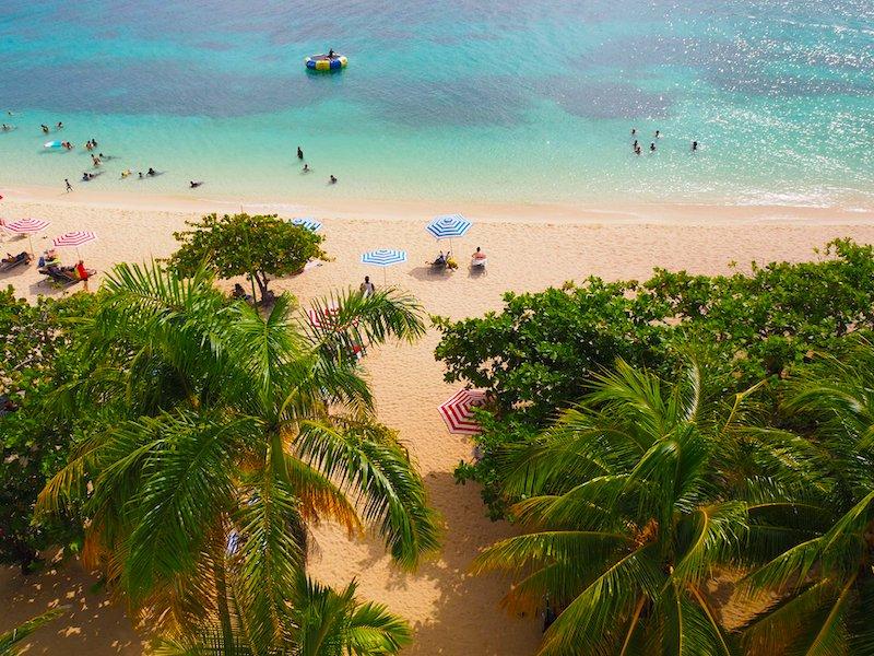 Jamaika Reisebericht Doctors Cave Beach
