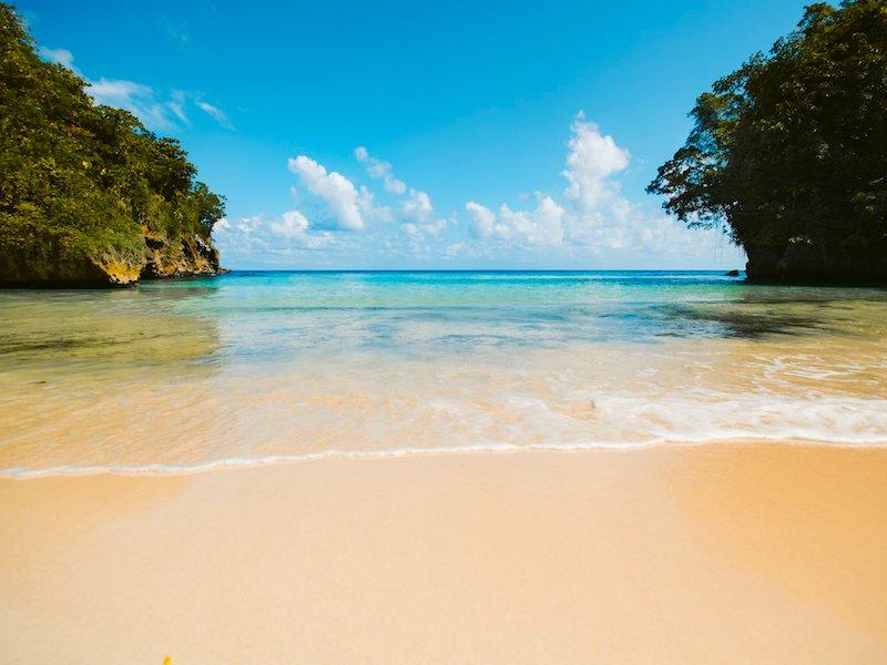 Jamaika Reisebericht Frenchman's Cove Beach