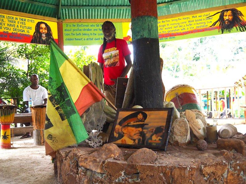 Rastafari-Dorf INDIGENOUS VILLAGE Jamaika